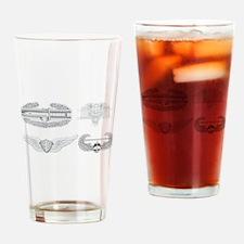 CAB EFMB Flight Surgeon Air Assault Drinking Glass