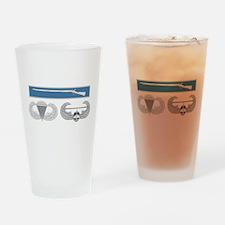 EIB Airborne Air Assault Drinking Glass