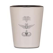 EFMB Flight Surgeon Msr Airborne Sr Shot Glass