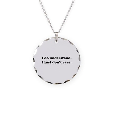 I do understand. Necklace Circle Charm