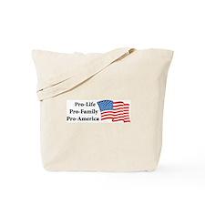Pro-America Tote Bag