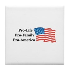Pro-America Tile Coaster