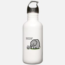 Soccer Elephant (2) Water Bottle
