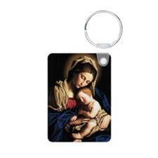 Madonna and child Keychains