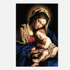 Madonna and child Postcards (Package of 8)