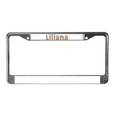Liliana Fiesta License Plate Frame