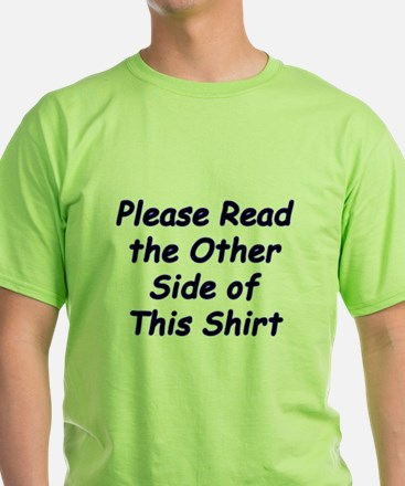 Read the Other Side T-Shirt