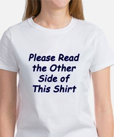 Read the Other Side Tee