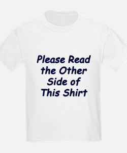 Read the Other Side Kids T-Shirt