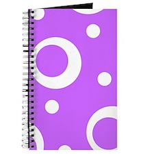 Big Dots in Fuchsia Journal