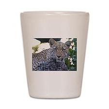 Leopard Portrait Shot Glass