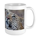 Leopard Portrait Large Mug