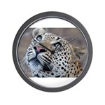 Leopard Portrait Wall Clock