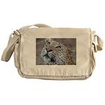 Leopard Portrait Messenger Bag