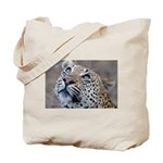 Leopard Portrait Tote Bag
