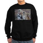 Leopard Portrait Sweatshirt (dark)