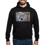 Leopard Portrait Hoodie (dark)