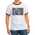 Leopard Portrait Ringer T
