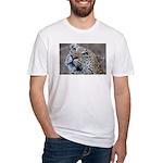 Leopard Portrait Fitted T-Shirt