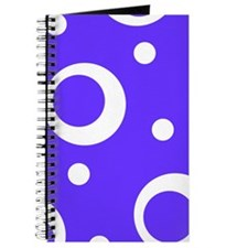 Big Dots in Blue Journal