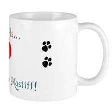 French Mastiff Love Mug
