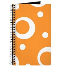 Big Dots in Orange Journal