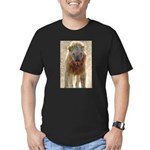 Power & Intimidation! Men's Fitted T-Shirt (dark)
