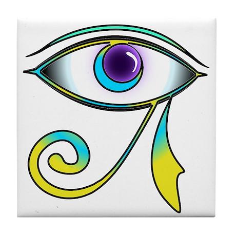 Eye of Osiris Tile Coaster