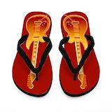Guitar player Flip Flops