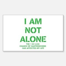 I am not alone! Decal