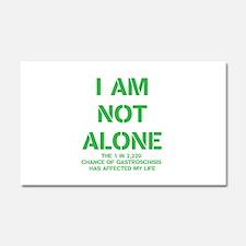 I am not alone! Car Magnet 20 x 12