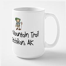Hike Deer Mtn Trail (Boy) Large Mug