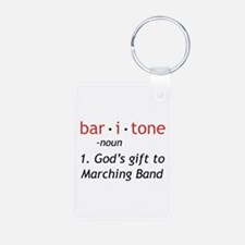Definition of a Baritone Aluminum Photo Keychain