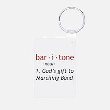 Definition of a Baritone Keychains