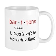 Definition of a Baritone Small Mug