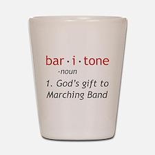 Definition of a Baritone Shot Glass