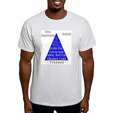 New Hampshire Food Pyramid T-Shirt