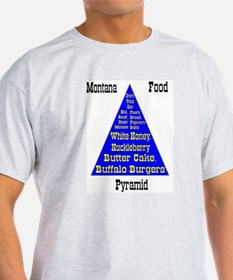 Montana Food Pyramid T-Shirt