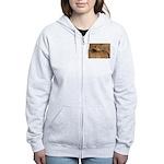 Cheetah Women's Zip Hoodie