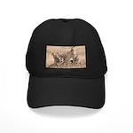 Cheetah Family Black Cap