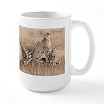 Cheetah Family Large Mug