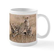 Cheetah Family Mug
