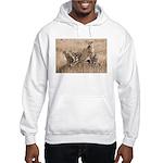 Cheetah Family Hooded Sweatshirt