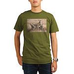 Cheetah Family Organic Men's T-Shirt (dark)