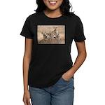 Cheetah Family Women's Dark T-Shirt