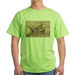 Cheetah Family Green T-Shirt