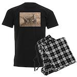 Cheetah Family Men's Dark Pajamas