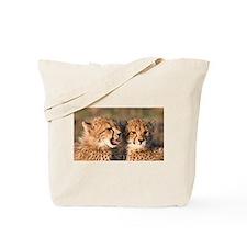 Cheetah cubs Tote Bag