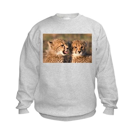 Cheetah cubs Kids Sweatshirt
