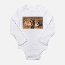 Cheetah cubs Long Sleeve Infant Bodysuit